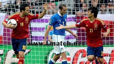 résumé Spain Italy HD buts euro 2012