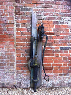 Old water pump at West Green House, Hampshire