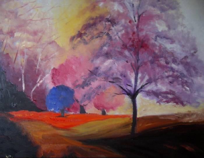 Arte al sur actividades colores c lidos y fr os - Cuadros con colores calidos ...