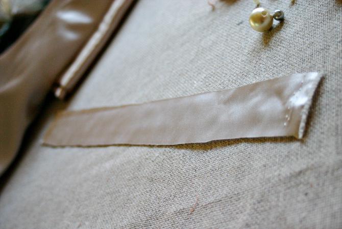 Браслет или ожерелье из атласа