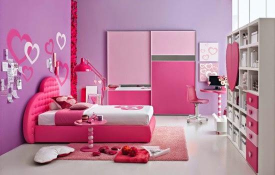warna kamar tidur anak perempuan