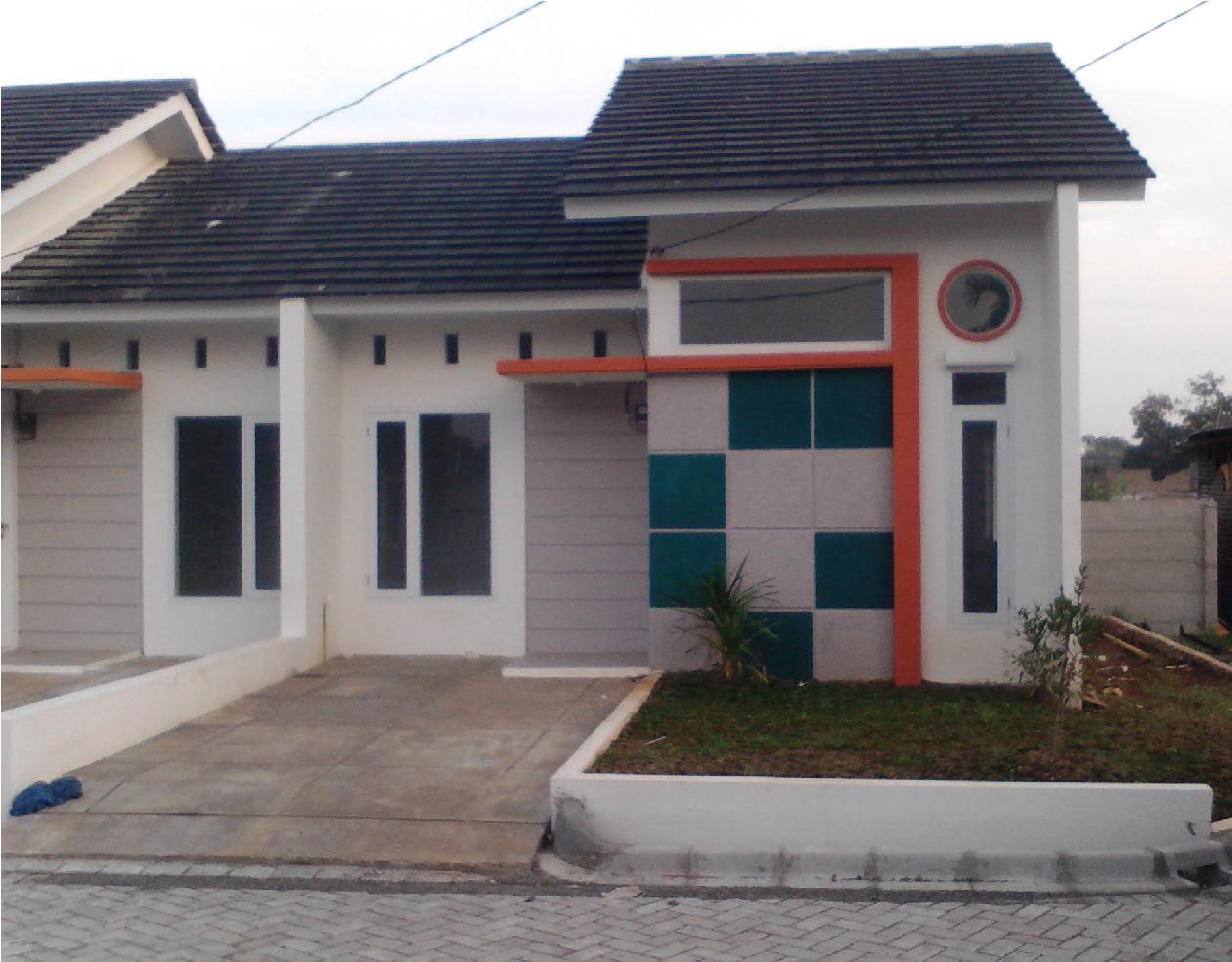 Salah satu contoh perumahan di Tangsel