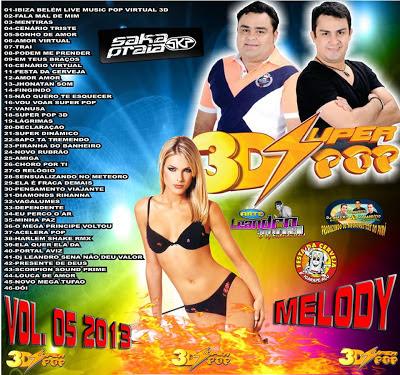 CD SUPER POP 3D MELODY VOL.05