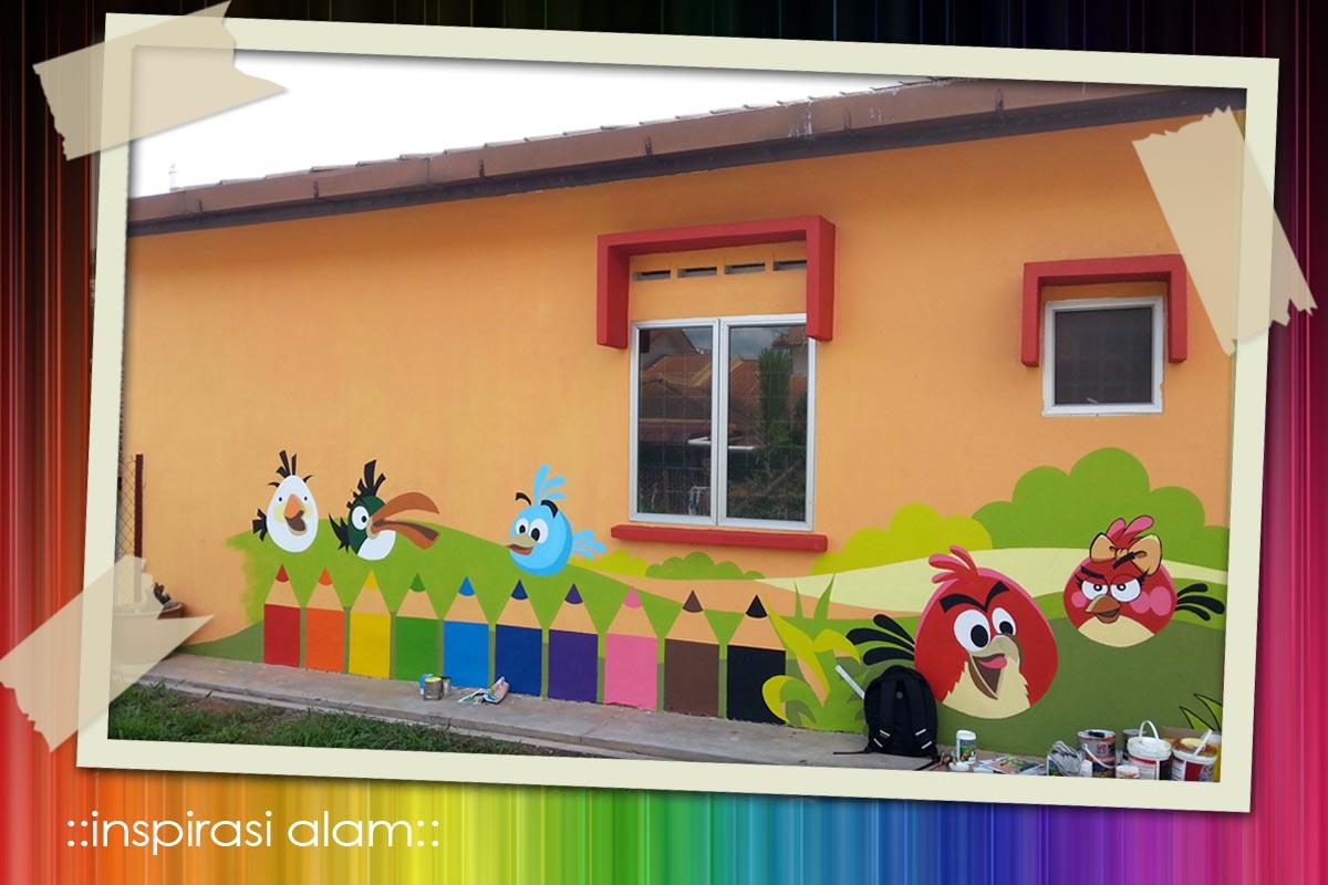 Inspirasi alam projek mural tabika perpaduan siri 5 for Mural untuk taska