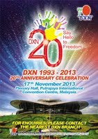 DXN&#39;s 20th Anniversary Event