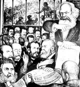 Karl Marx ✆ Diego Rivera