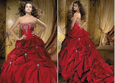 red wedding dresses02