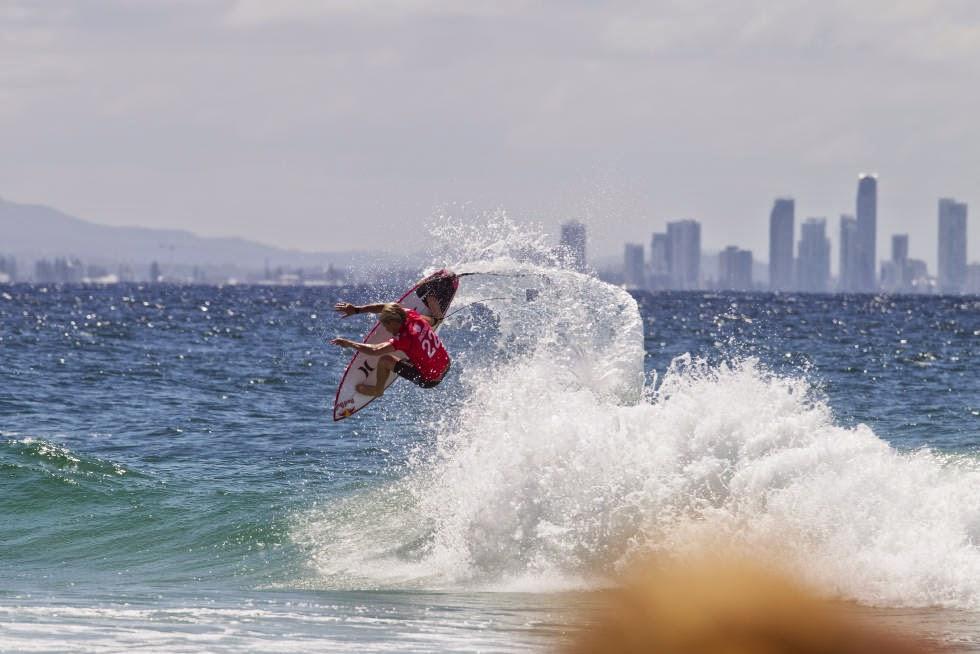 28 Quiksilver Pro Gold Coast 2015 Kolohe Andino Foto WSL Kelly Cestari