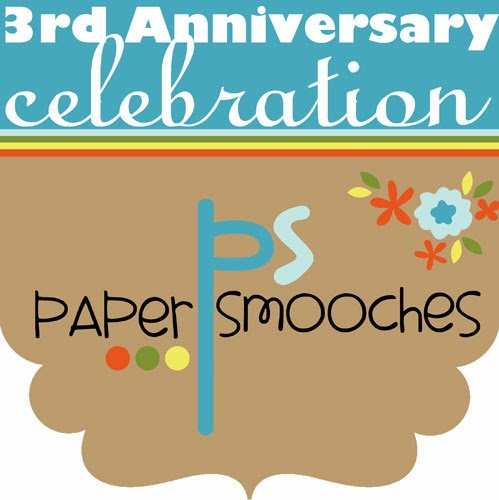 Happy 3rd Anniversary Paper Smooches!