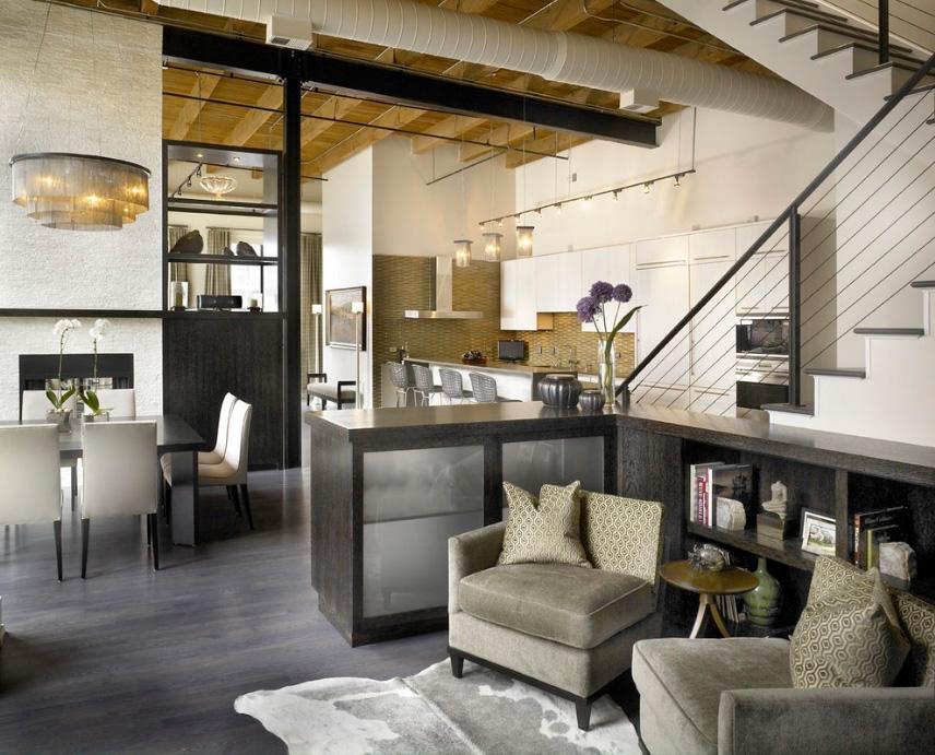 chicago skyloft csik g i loft home house garden design