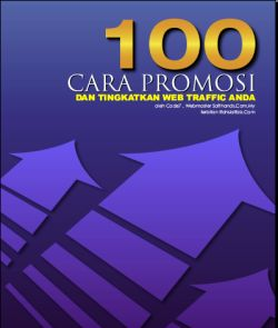 ScreenShoot Ebook 100 Cara Promosi Web