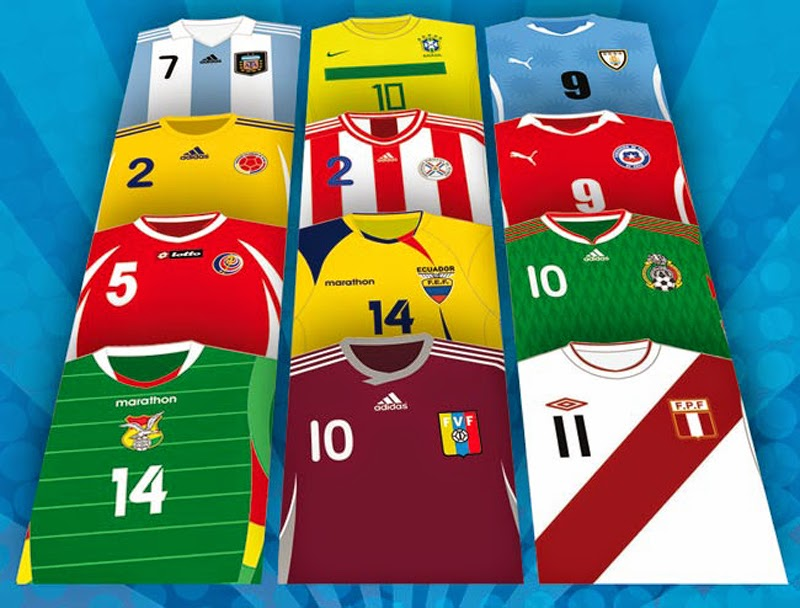 Estas son las camisetas más lindas de la temporada 2015  - Imagenes De Camisetas De Equipos De Futbol