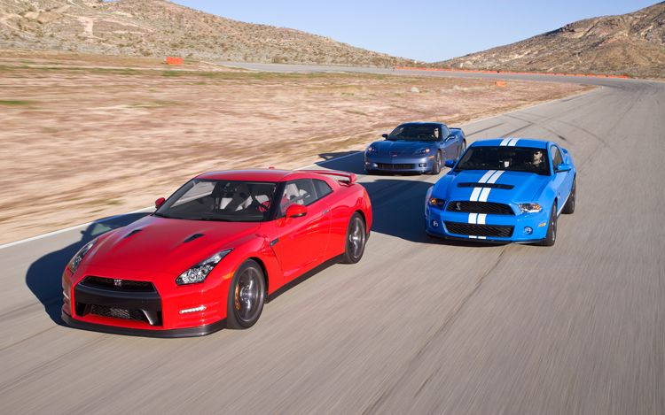 Motor Trend Comparision Test - Corvette Z06 vs Shelby GT500 vs 2012 ...