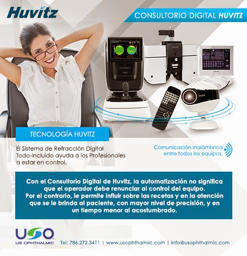 Consultorio Digital de Huvitz - US Ophthalmic