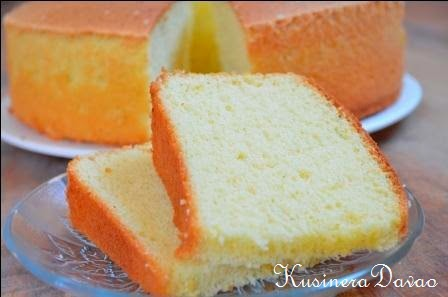 Cake recipe with 2 egg yolks