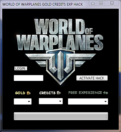 kody do World Of Warplanes