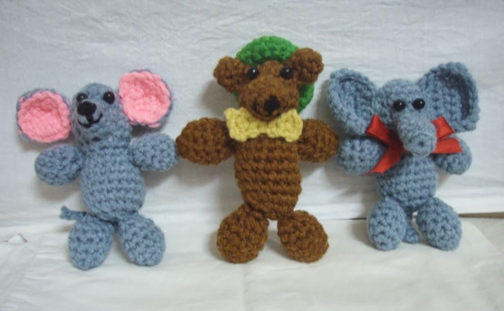 Mini Menagerie amigurumi free patterns ~ Free Crochet Patterns