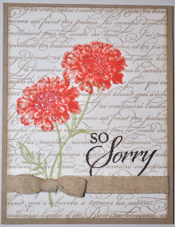 the sassy scrapper  sympathy cards