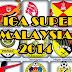 Keputusan Terkini Perlawanan Liga Super 12/04/2014