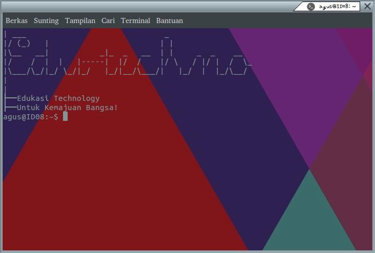 Mempercantik Tampilan Terminal Linux Sesuka Hati