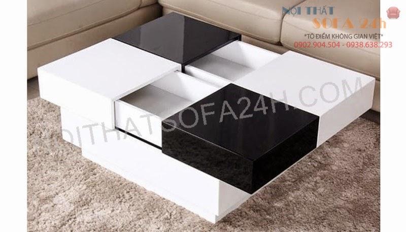 Bàn sofa gỗ BS092