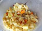 supa crema de telina cu crutoane preparare