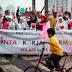 Meriahkan Milad PKS ke-15, Kader Freeze Mob di HI