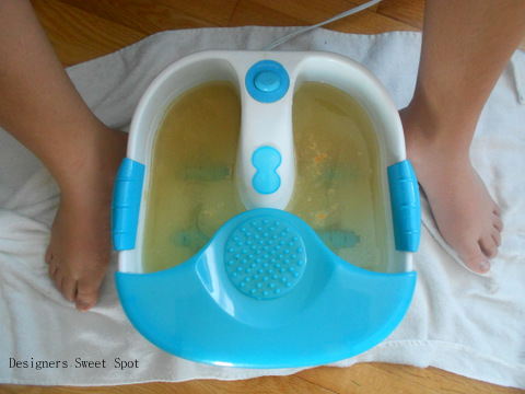 Ginger Foot Bath