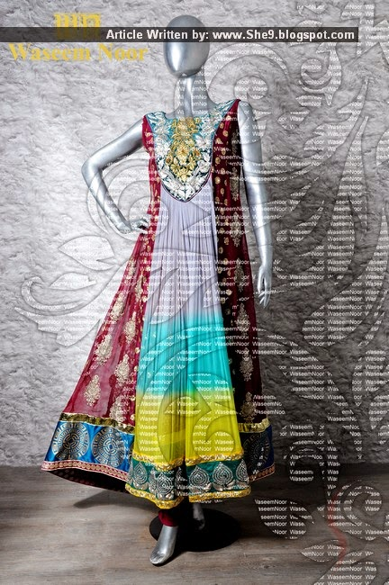 Designer Waseem Noor Dresses for Girls