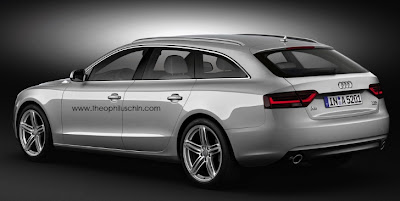 Audi A5 Avant Rendering