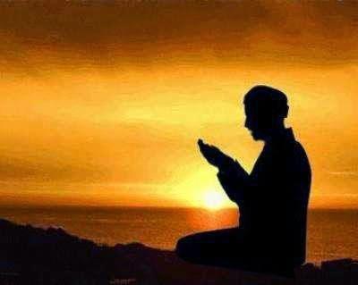 Gambar DP BBM Doa Islami Berdoa Harapan Rejeki ALLAH SWT