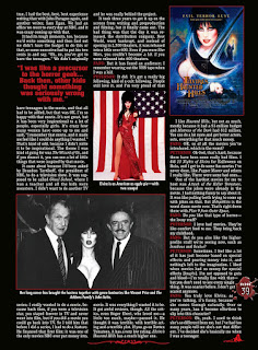 Page 39 from Fangoria #344 featuring Elvira