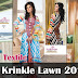 Aalishan Krinkle / Chiffon Lawn Collection 2013 Volume 3 By Dawood Textile | Eid Festive Dresses 2013-14