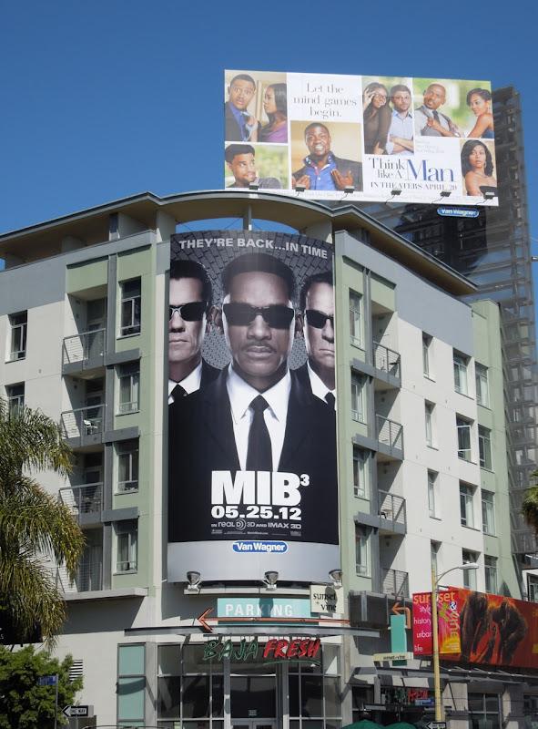 MIB3 movie billboard