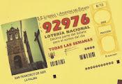 LOTERÍA SEMANAL A BENEFICIO DE LA PARROQUIA