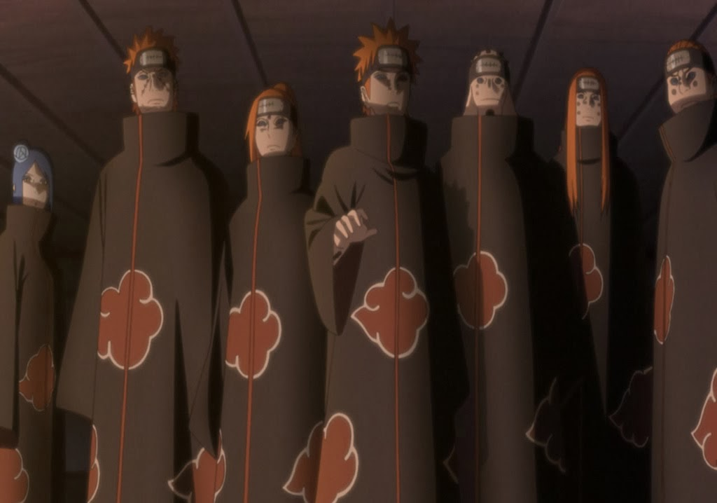 Naruto Storm Revolution Origins of Akatsuki 6 paths of Pain