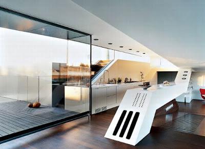 Latest Modern Penthouse Apartment Design in Vienna