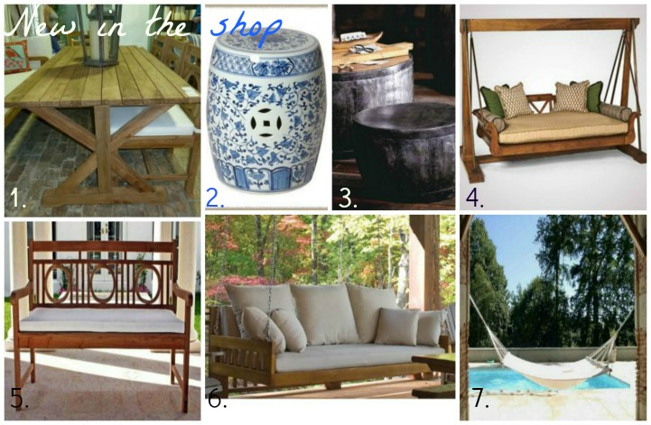 What's new in the shop-Coastal outdoor furniture