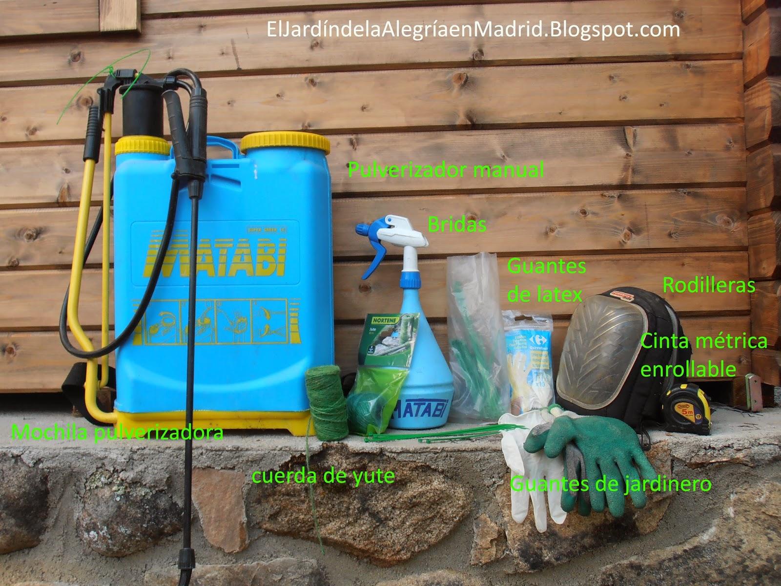 El jard n de la alegr a herramientas y utensilios de for Herramientas para el jardin