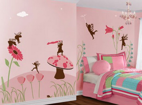 Kids bedroom wall painting ideas 5 small interior ideas for Kids room painting ideas