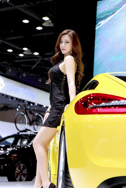 1 Kim Ha Yul - Seoul Motor Show 2013- very cute asian girl - girlcute4u.blogspot.com