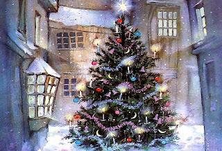 hd christmas tree wallpaper