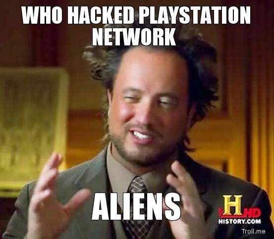 Memes Playstation Network