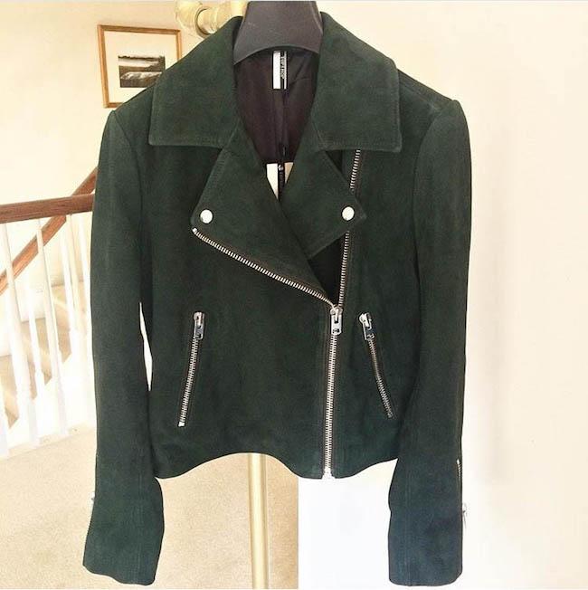 topshop suede jacket