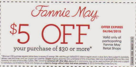 graphic about Fannie May Coupons Printable referred to as Coupon code fannie might - Galaxy s5 assess offers
