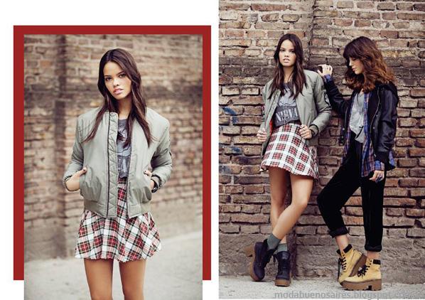 Moda otoño invierno 2014. 47 Street otoño invierno 2014 minifaldas invierno 2014