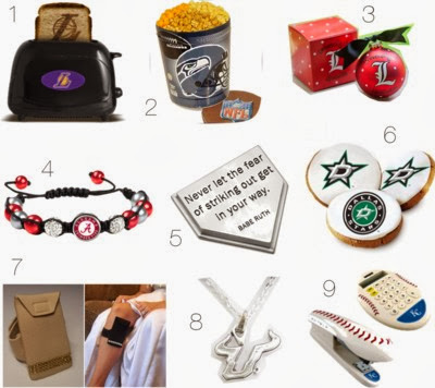 The Style Ref's 2013 Holiday Gift Guide: Last Minute Gift Ideas for Sports Fans