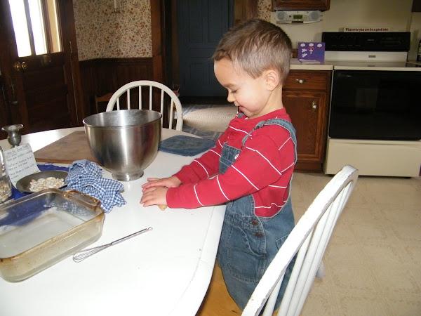 Lenten Pretzel Making