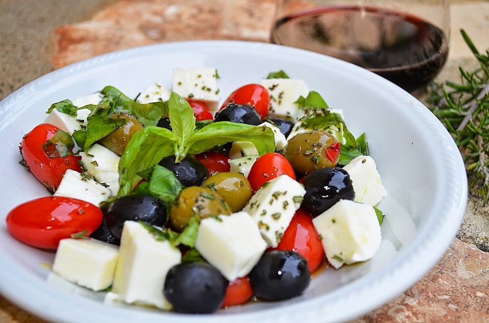 An Insalata Caprese Recipe By For The Love Of Italy