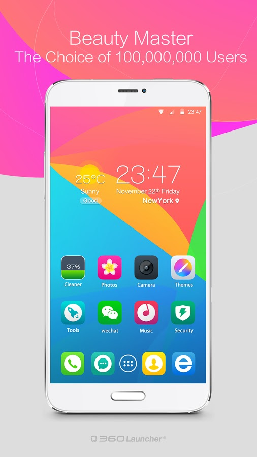 360 Launcher-Fast, Free Themes v6.1.2